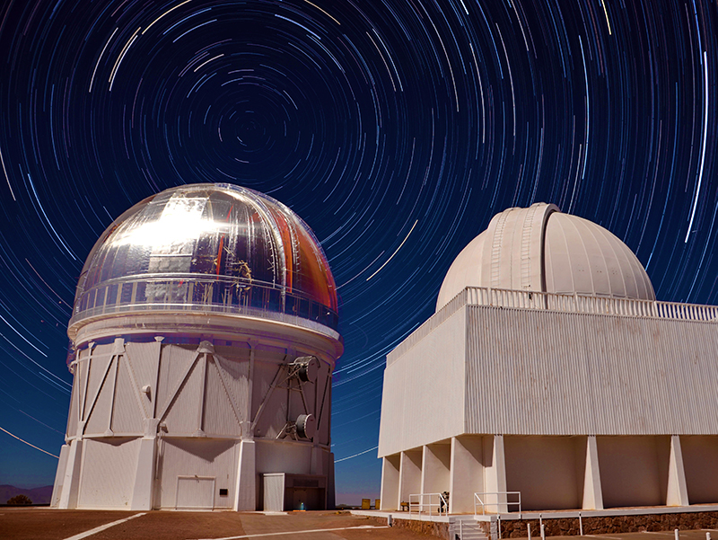 4m Blanco Telescope in Chile used by DES