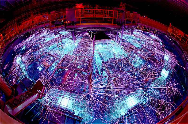 Z Accelerator at Sandia National Labs used to study iron opacities