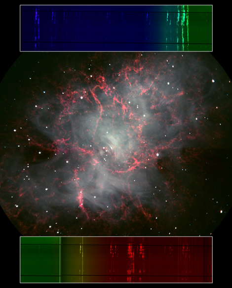 Crab Nebula with MODS1