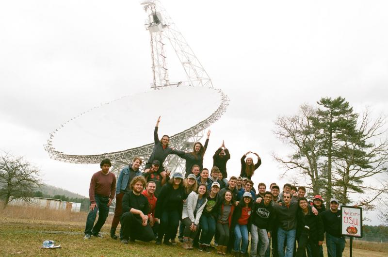 OSUAS Visits Green Bank Observatory