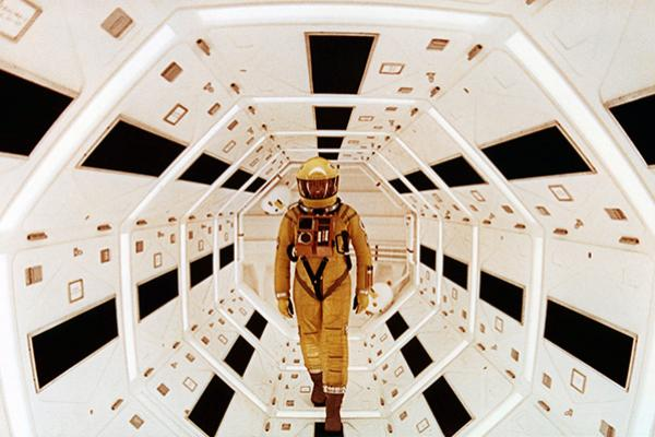 Image from the movie 2001 A Space Odyssey