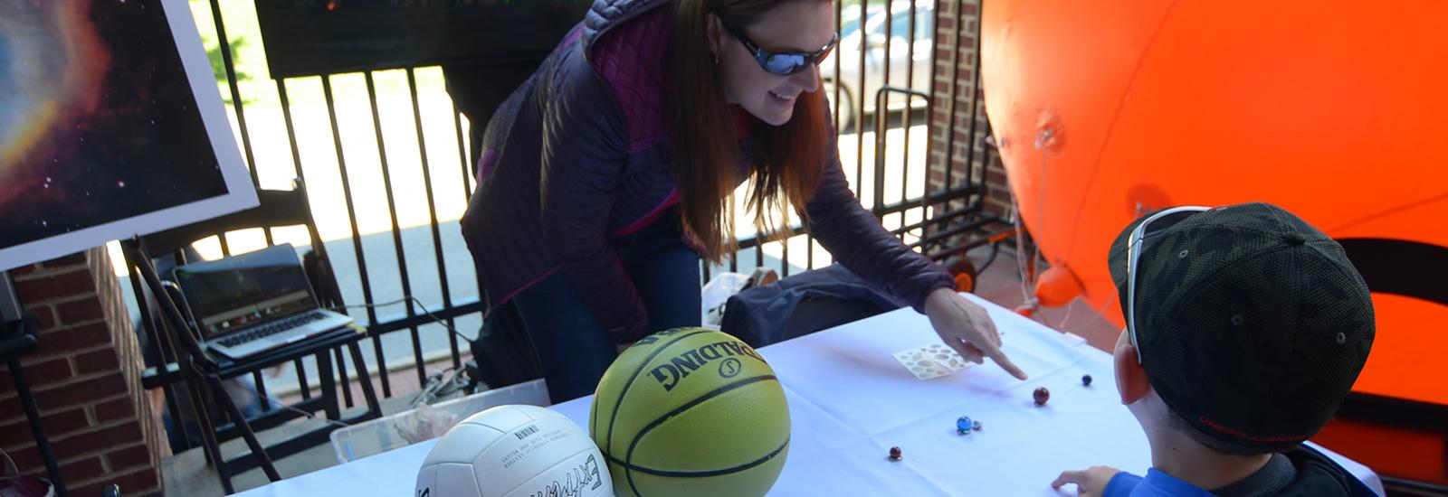 OSU Astronomers for Space Day at Huntington Park